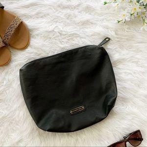 Saks Fifth Avenue Black Faux Leather Bag